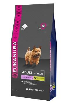 """Корм Eukanuba """"Dog"""", для взрослых собак мелких пород, 15 кг"""