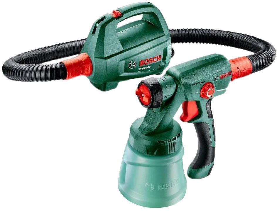 Bosch PFS 2000 0603207300 краскораспылитель bosch pfs 5000 e 0603207200