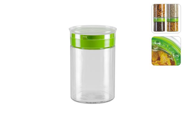 Емкость для сыпучих продуктов Nadoba Tekla, 1,25 л. 741113 емкость для сыпучих продуктов nadoba tekla 0 85 л