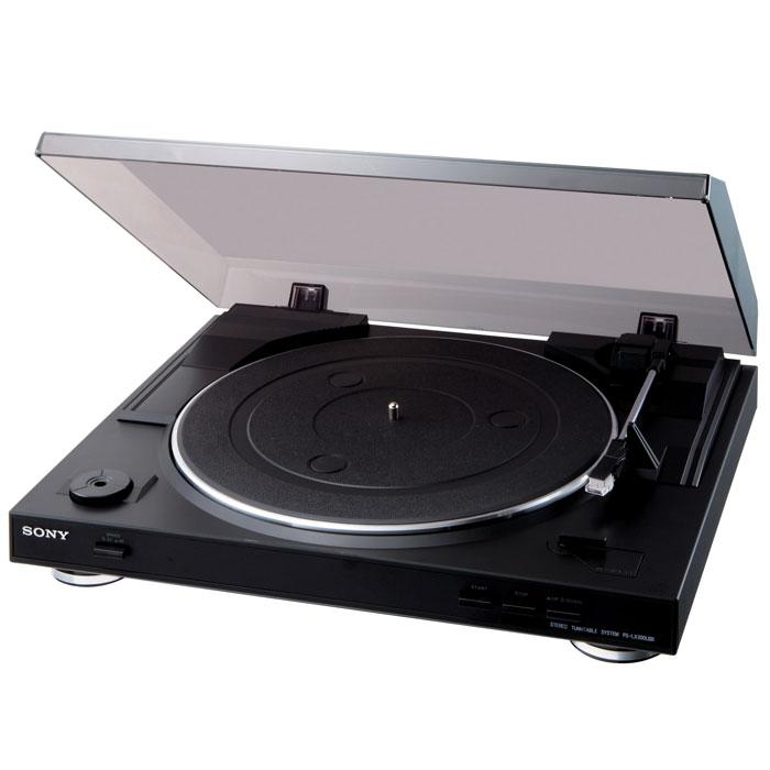 Проигрыватель виниловых дисков Sony PS-LX300USB цена и фото