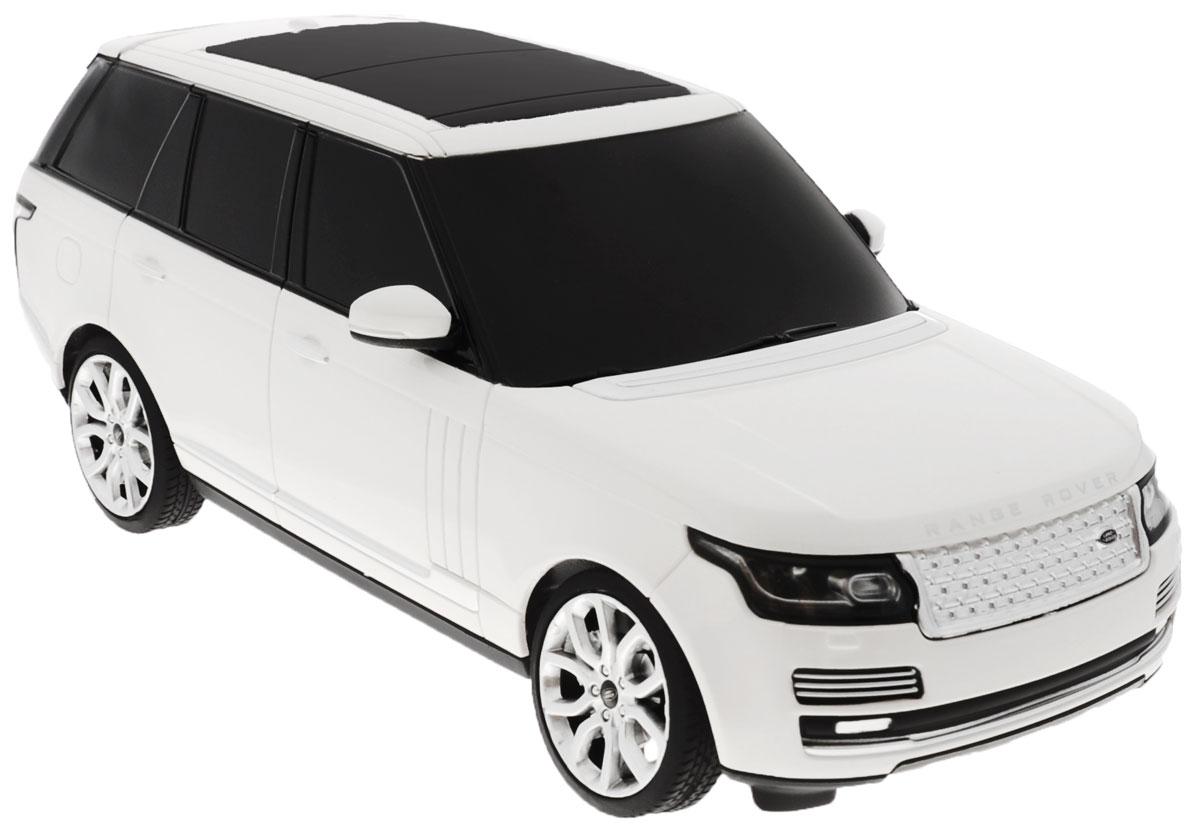 Rastar Радиоуправляемая модель Range Rover цвет белый rastar 1 24 ferrari ff 40 mhz 46700w белый