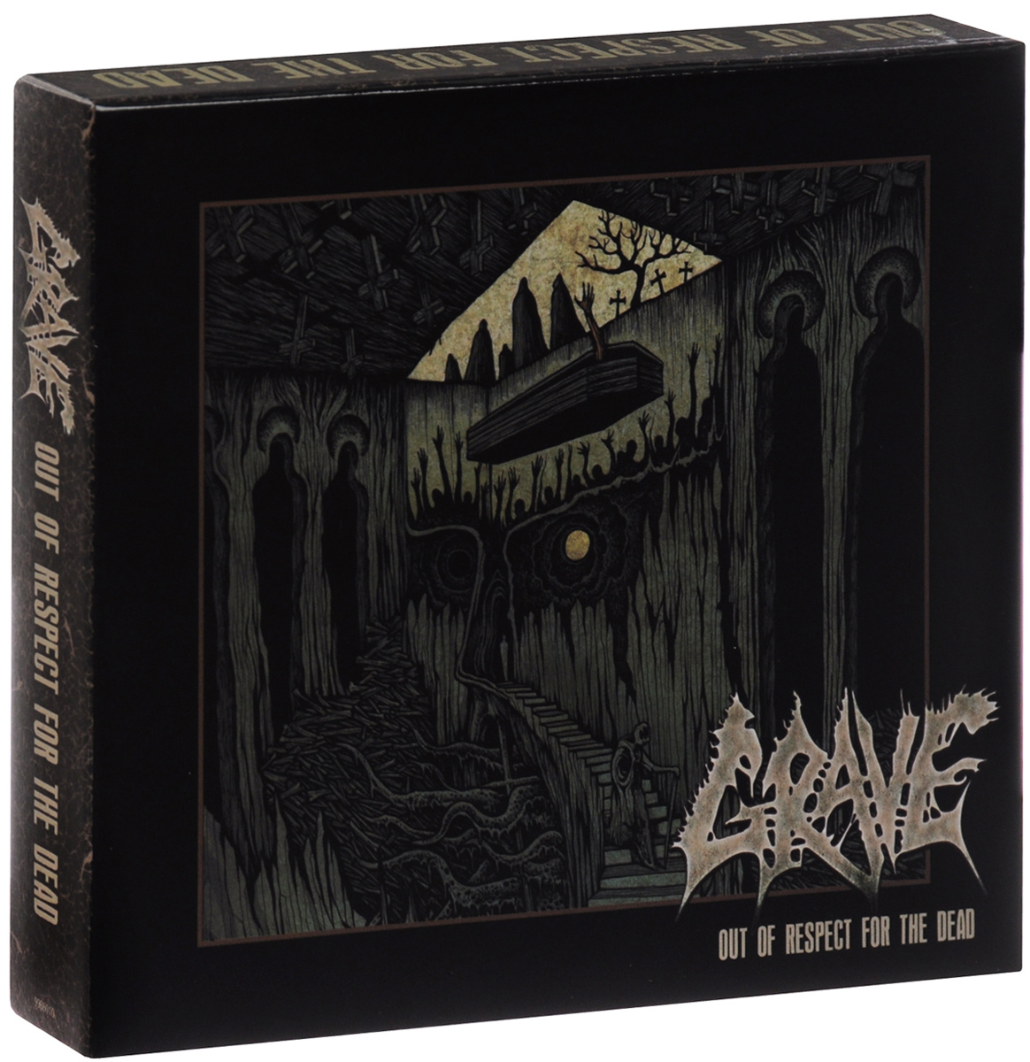 """""""Grave"""" Grave. Out Of Respect For The Dead. Deluxe Box Set (2 CD)"""