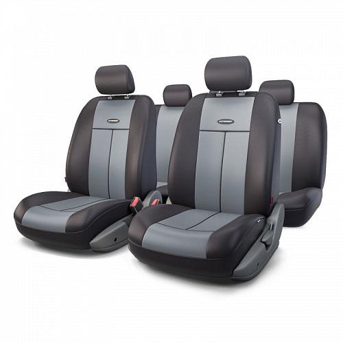 Авточехлы Autoprofi TT, цвет: черный, серый, 9 предметов. TT-902P BK/D.GY alliance 324 9 5 32 tt