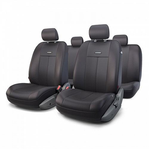 Авточехлы Autoprofi TT, цвет: черный, 9 предметов. TT-902P BK/BK alliance 324 9 5 32 tt