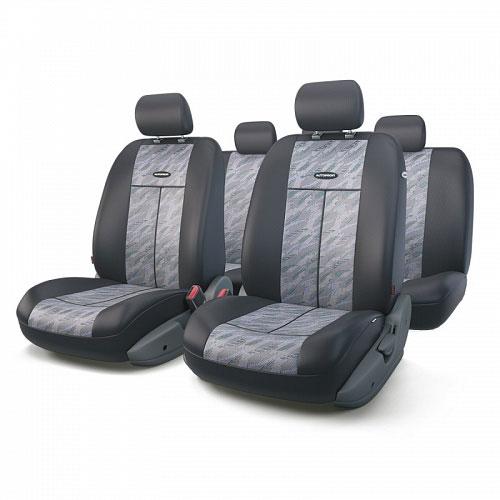 Авточехлы Autoprofi TT, цвет: черный, серый, 9 предметов. TT-902J CLOUD alliance 324 9 5 32 tt