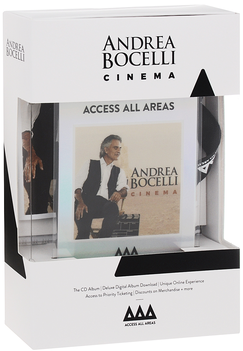 Андреа Бочелли Andrea Bocelli. Cinema. Deluxe Edition андреа бочелли andrea bocelli andrea