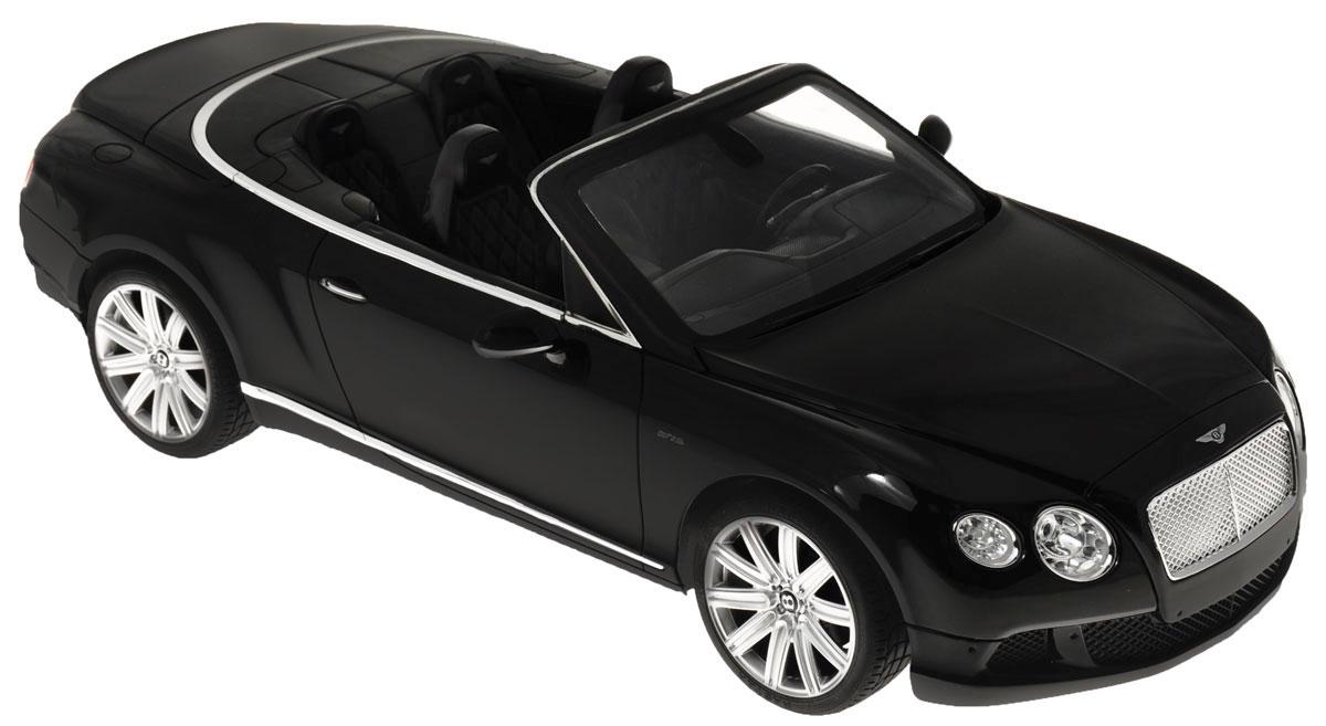 Rastar Радиоуправляемая модель Bentley Continental GT Speed Convertible цвет черный rastar радиоуправляемая модель bentley continental gt3