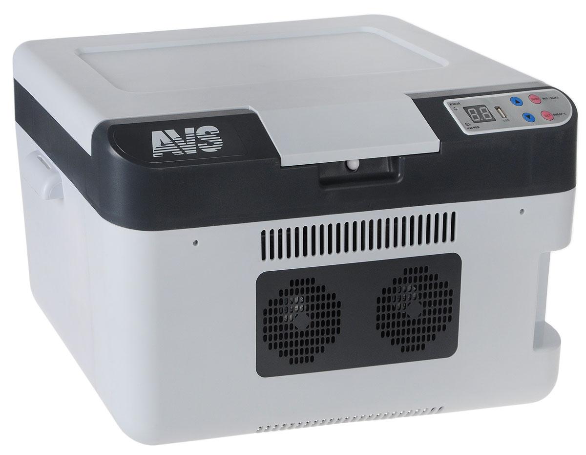 Холодильник автомобильный AVS CC-24WBC, 24 л, мин.температура -2°