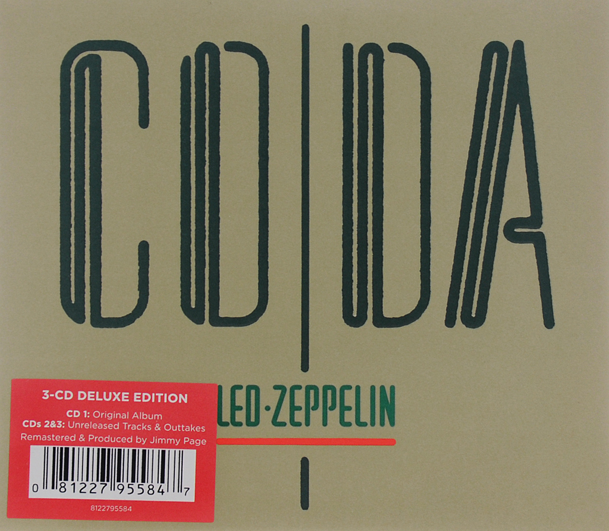 Led Zeppelin Led Zeppelin. Coda. Deluxe Edition (3 CD) led zeppelin led zeppelin in through the out door deluxe edition 2 cd