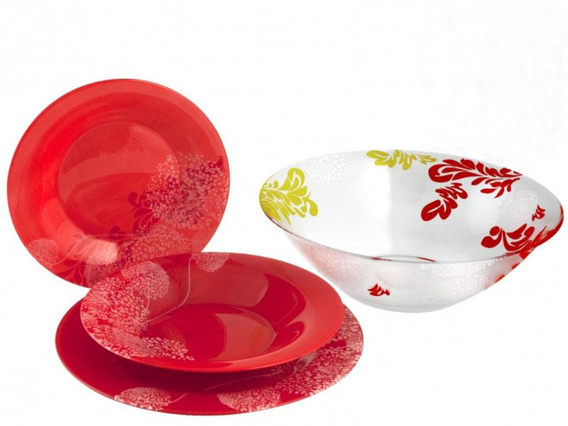 """Набор столовой посуды Luminarc """"Piume"""", 19 предметов"""