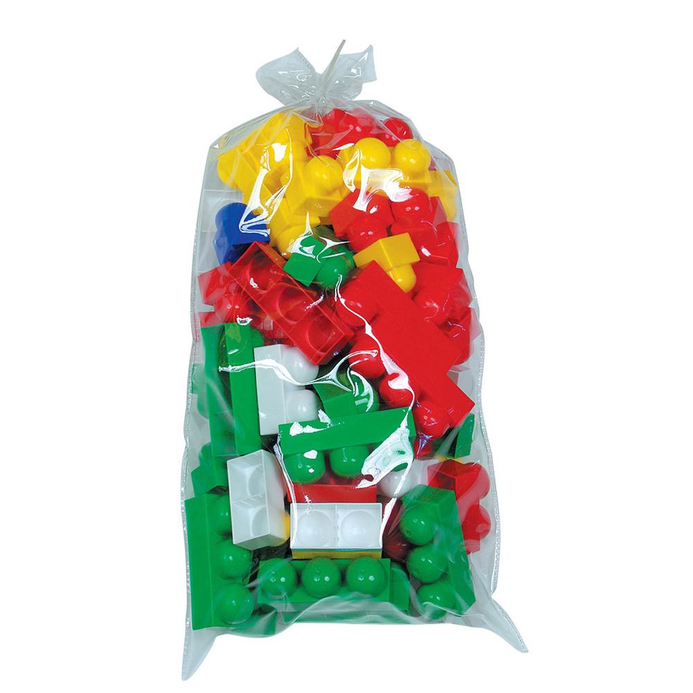 Полесье Конструктор Юниор 6660, цвет в ассортименте6660Конструктор - необходимая игрушка в любой детской комнате, которая надолго займет внимание вашего ребенка. В конструкторе Юниор 69 разноцветных пластиковых элементов, с помощью которых ребенок сможет складывать разнообразные постройки. Все детали конструктора имеют большие формы и безопасны для здоровья малыша. Детали легко и прочно соединяются между собой. Постройки можно применить для сюжетно-ролевых игр. Игра с конструктором развивает образное и пространственное мышление, стимулирует фантазию и творческое воображение, организаторские навыки и речь. Во время игры ребенок познакомится с основными цветами, научится различать фигуры, форму и цвет, сможет развить мелкую моторику рук, логику и творческое мышление. Уважаемые клиенты! Обращаем ваше внимание на цветовой ассортимент товара. Поставка осуществляется в зависимости от наличия на складе.