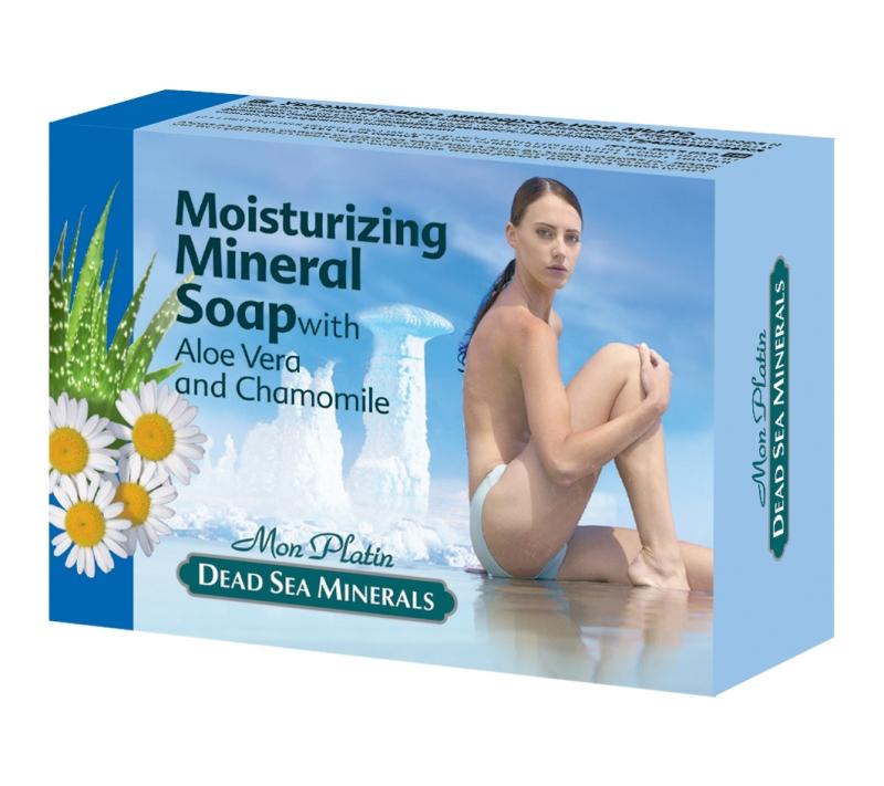 Mon Platin DSM Увлажняющее минеральное мыло 125г