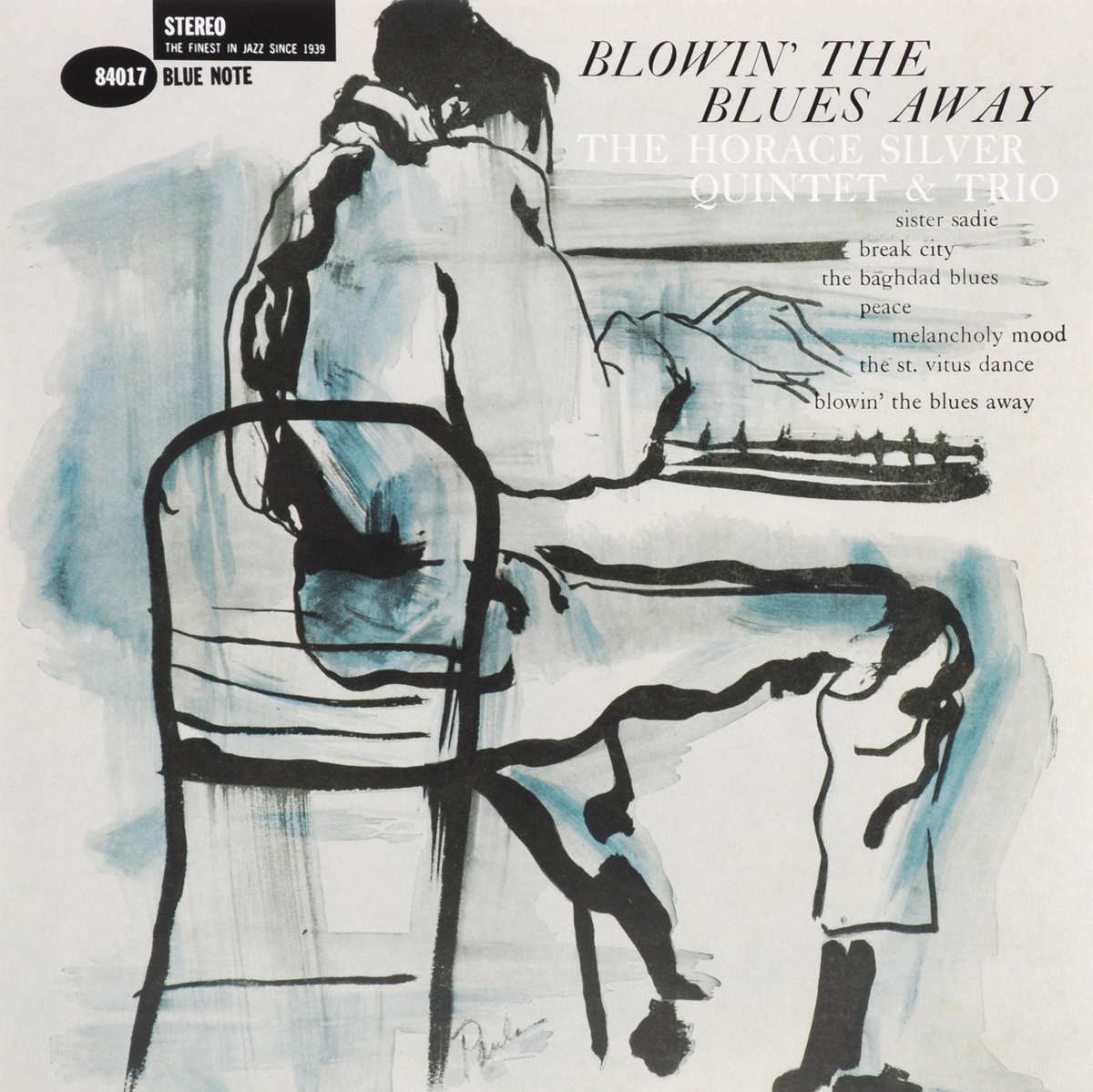 The Horace Silver Quintet Horace Silver Quintet & Trio. Blowin' The Blues Away (LP) the chico hamilton quintet the chico hamilton quintet gongs east