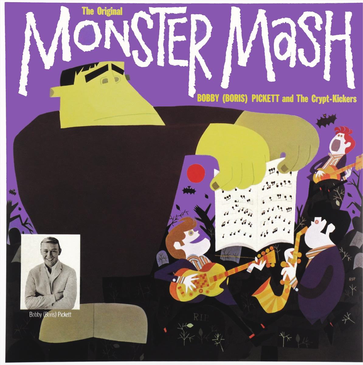 Бобби Пикетт Bobby (Boris) Pickett. Monster Mash (LP) цена и фото