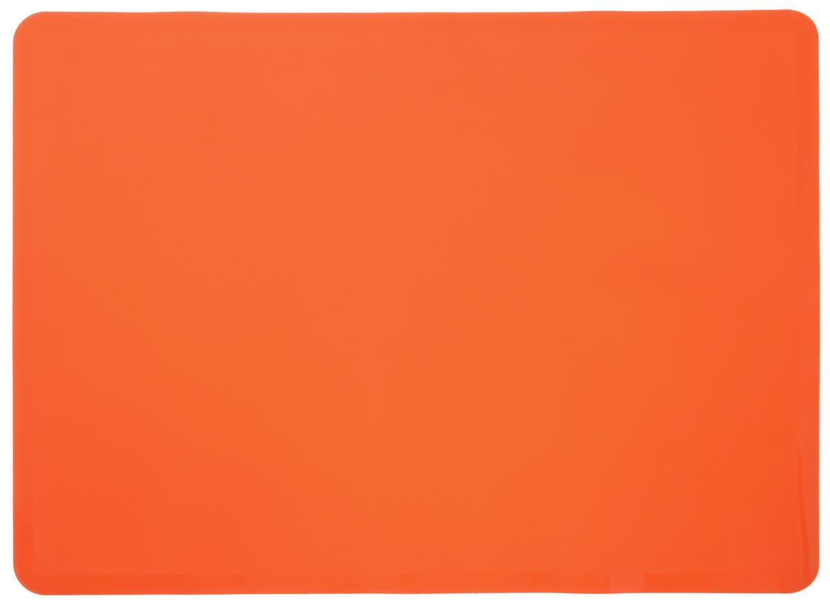Коврик для выпечки Mayer & Boch, цвет: оранжевый, 38 х 28 см набор для выпечки mayer
