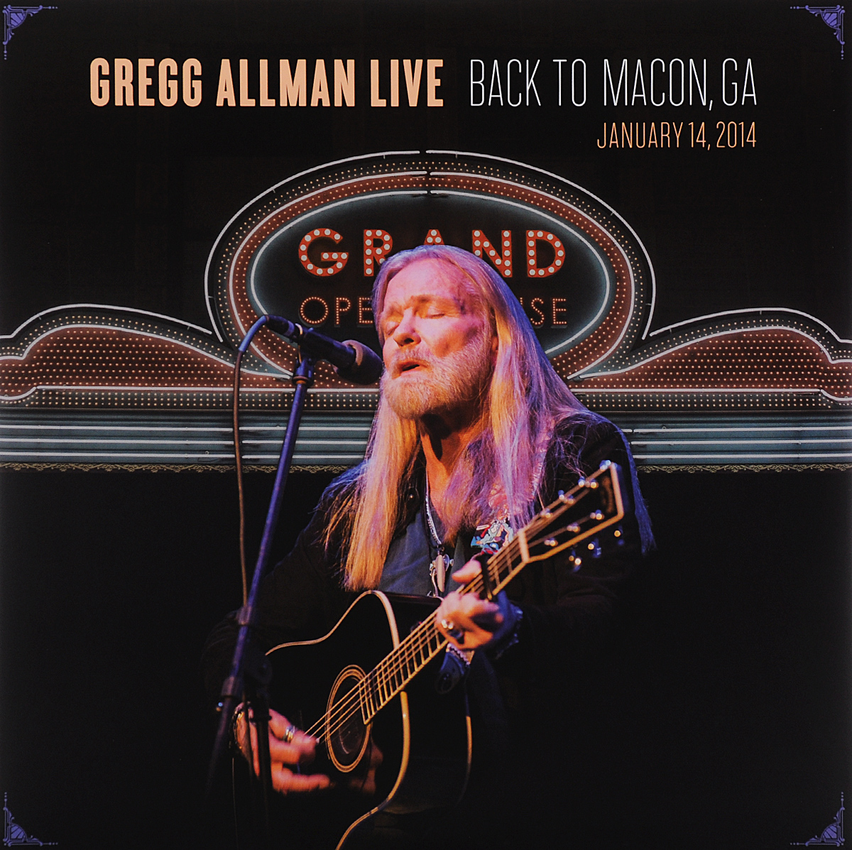 лучшая цена Грегг Оллмен Gregg Allman. Live: Back To Macon, GA (2 LP)