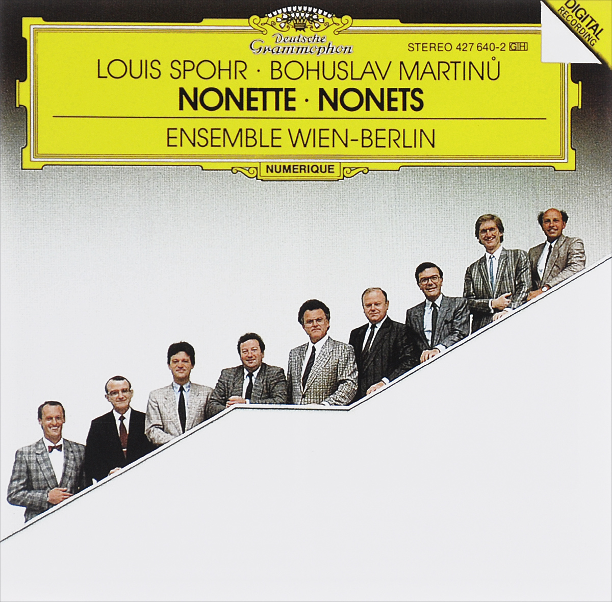 Ensemble Wien-Berlin Ensemble Wien-Berlin. Louis Spohr. Nonette / Bohuslav Martinu. Nonetto hrvy berlin