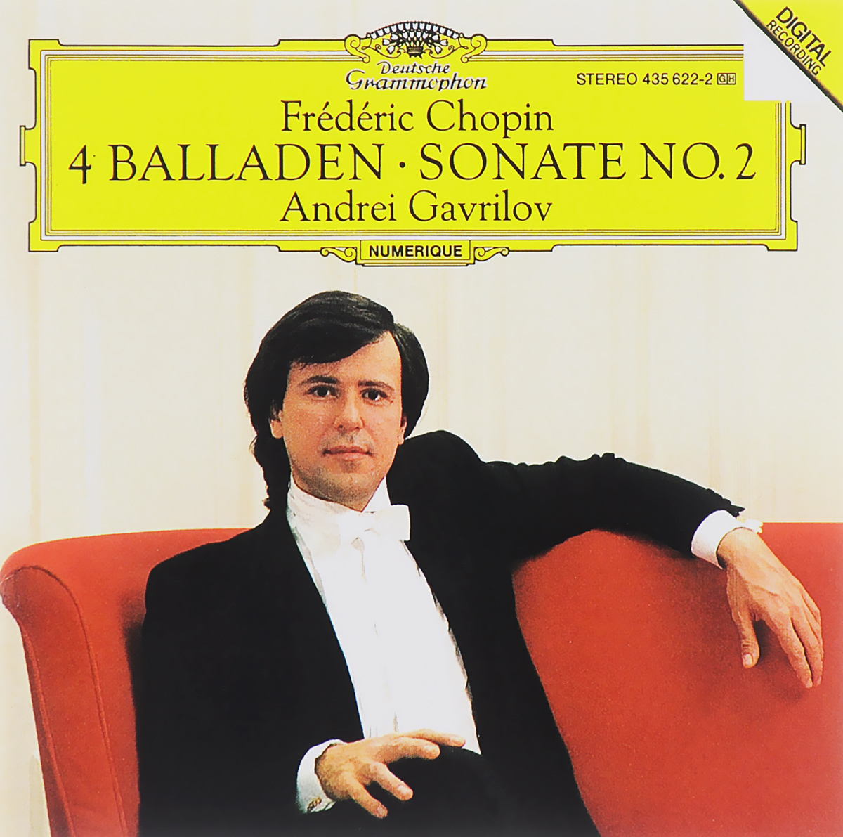 все цены на Андрей Гаврилов Andrei Gavrilov. Frederic Chopin. 4 Balladen / Sonate No. 2 онлайн