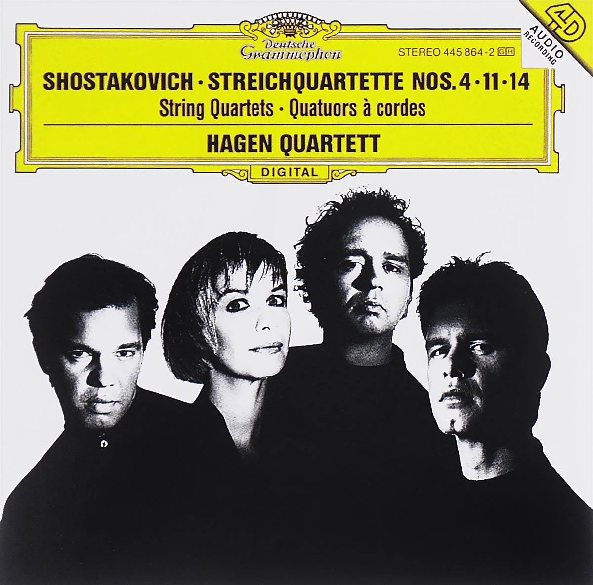 Hagen Quartett Hagen Quartett. Shostakovich. String Quartets No.4 / 11 / 14 f kauffmann quartett op 14