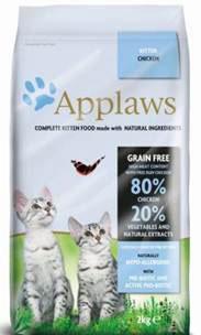 Корм сухой Applaws для котят, беззерновой, с курицей и овощами, 2 кг корм для кошек applaws отзывы