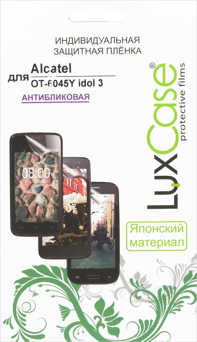Luxcase защитная пленка для AlcatelOT-6045Y Idol 3, антибликовая защитная плёнка для alcatel onetouch idol 4 6055k суперпрозрачная luxcase