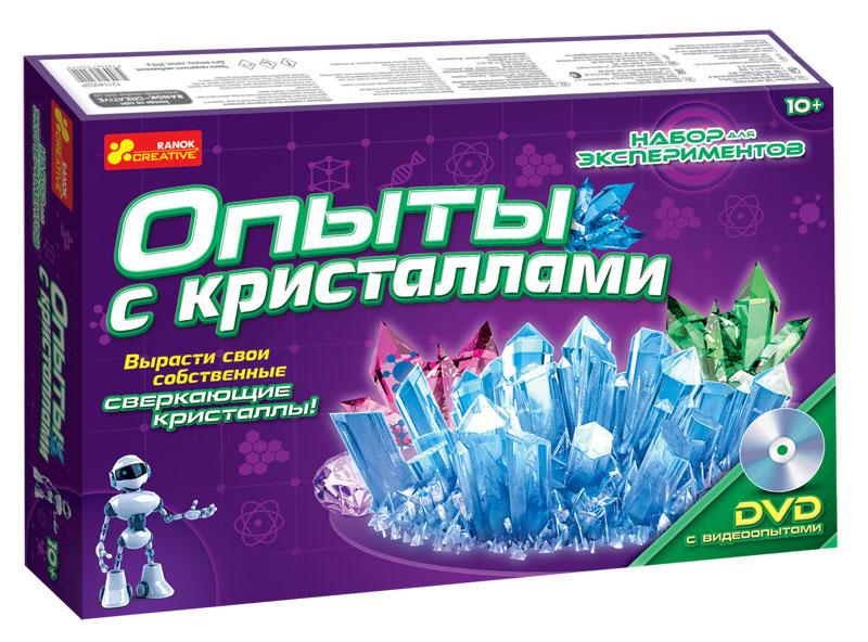 Ranok Набор для экспериментов Опыты с кристаллами