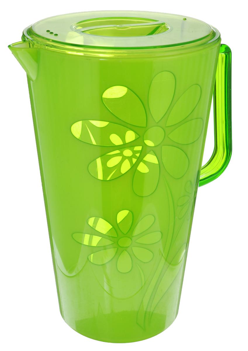 Кувшин Альтернатива Соблазн, цвет в ассортименте, 2,5 л чаша альтернатива соблазн цвет красный 1 7 л