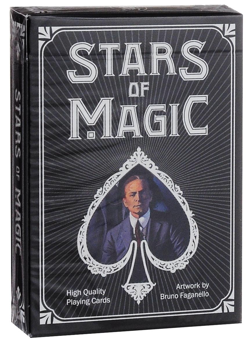 Карты игральные коллекционные Lo Scarabeo Stars of Magic - Black Edition, 54 карты. PC53 дневник для записей lo scarabeo готический единорог 192 страницы jou17