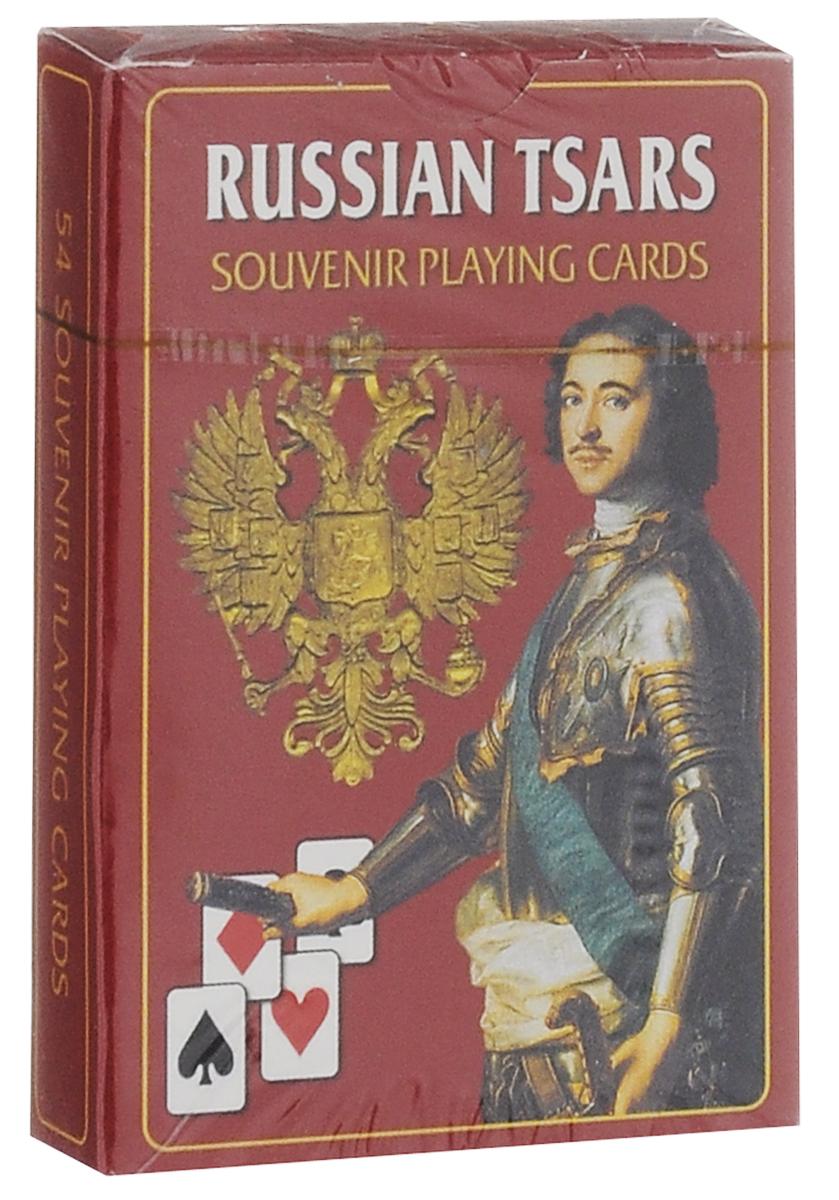 Игральные карты Медный всадник Русские цари медный всадник набор из 15 открыток