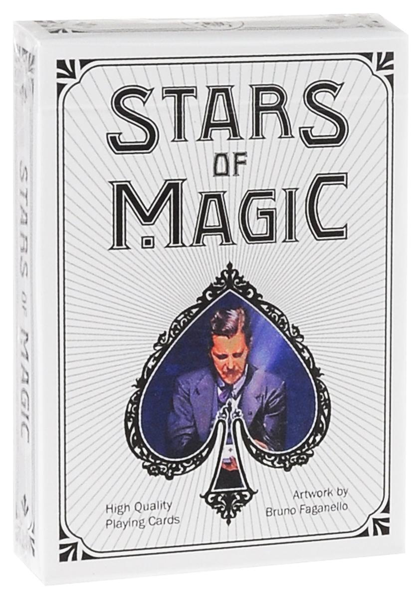 Карты игральные коллекционные Lo Scarabeo Stars of Magic - White Edition, 54 карты. PC54 дневник для записей lo scarabeo готический единорог 192 страницы jou17