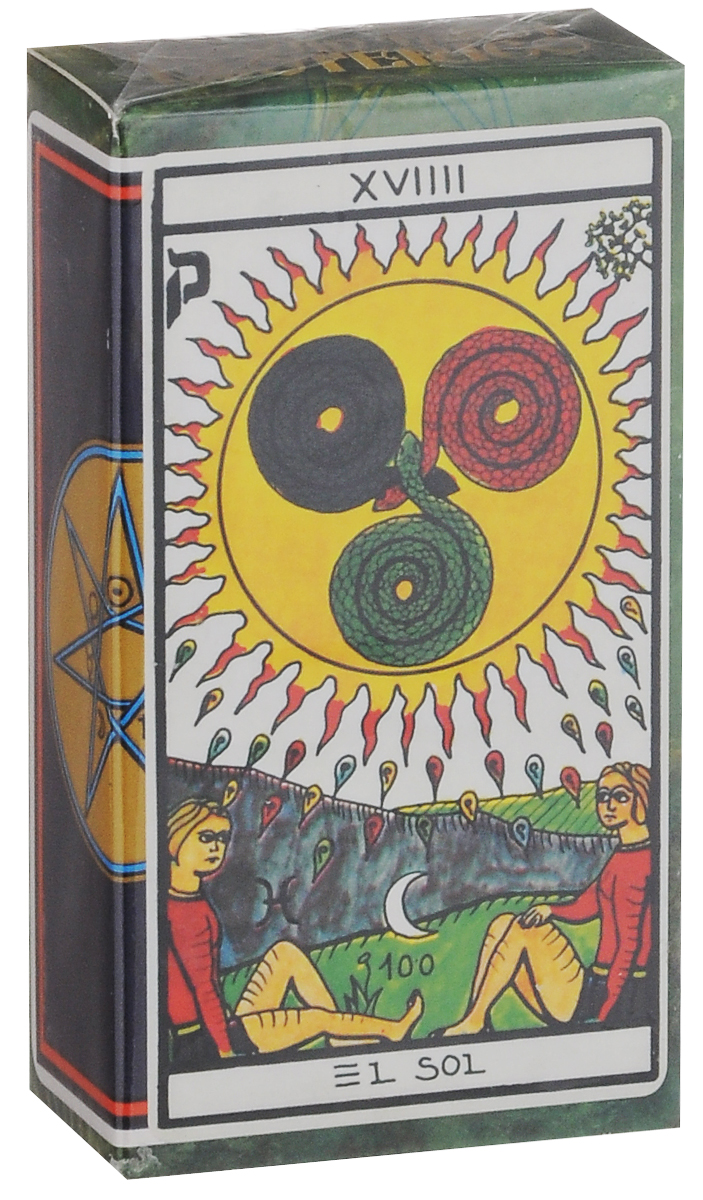 Карты Таро Fournier Esoteric TuckBox, цвет: синий, белый, 78 карт карты таро fournier anne stokes gothic tarot цвет черный красный 78 карт
