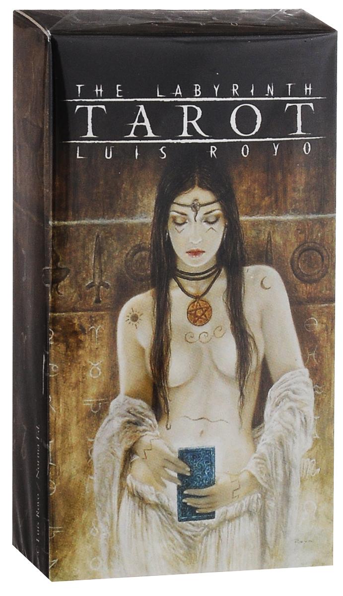 Карты Таро Fournier The Labyrinth Tarot. Luis Royo, цвет: коричневый, 78 листов карты таро fournier anne stokes gothic tarot цвет черный красный 78 карт