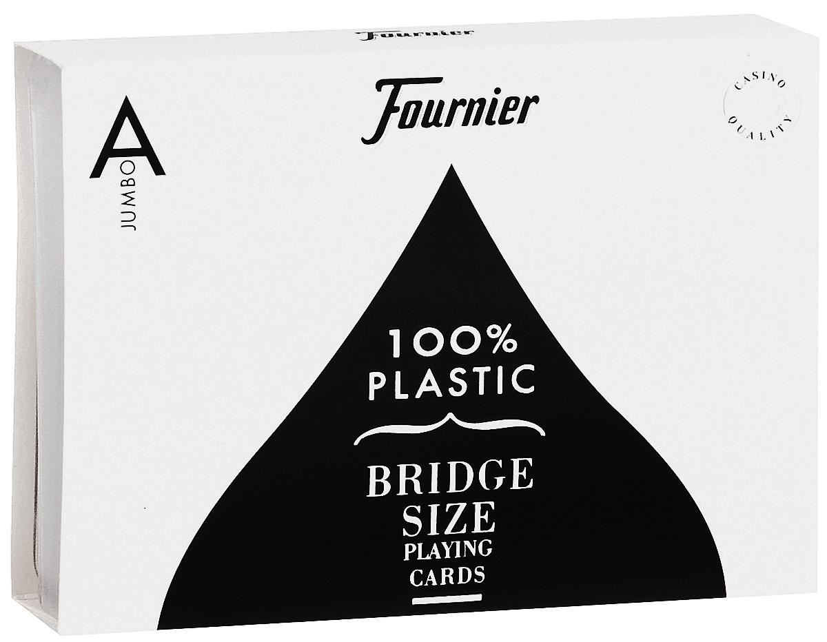 Карты игральные Fournier Maya, цвет: коричневый, белый, 2 колоды игральные карты fournier fournier 2818 100