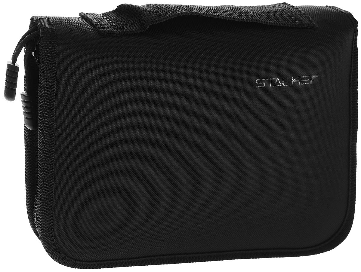 Сумка для пистолетов универсальная Stalker, цвет: черный