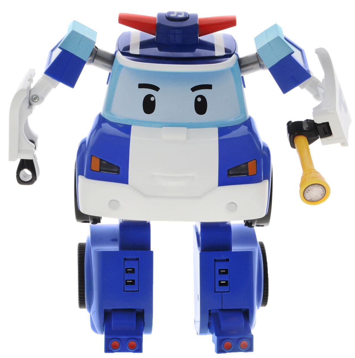 Robocar Poli Робот-трансформер на радиоуправлении Поли 83185 цена