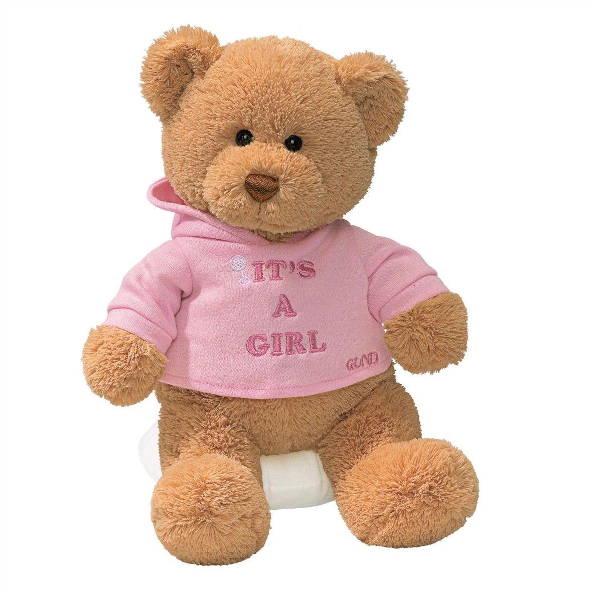Gund Мягкая игрушка It's a girl 30 см игрушка build a bear студия мягкой игрушки 90303