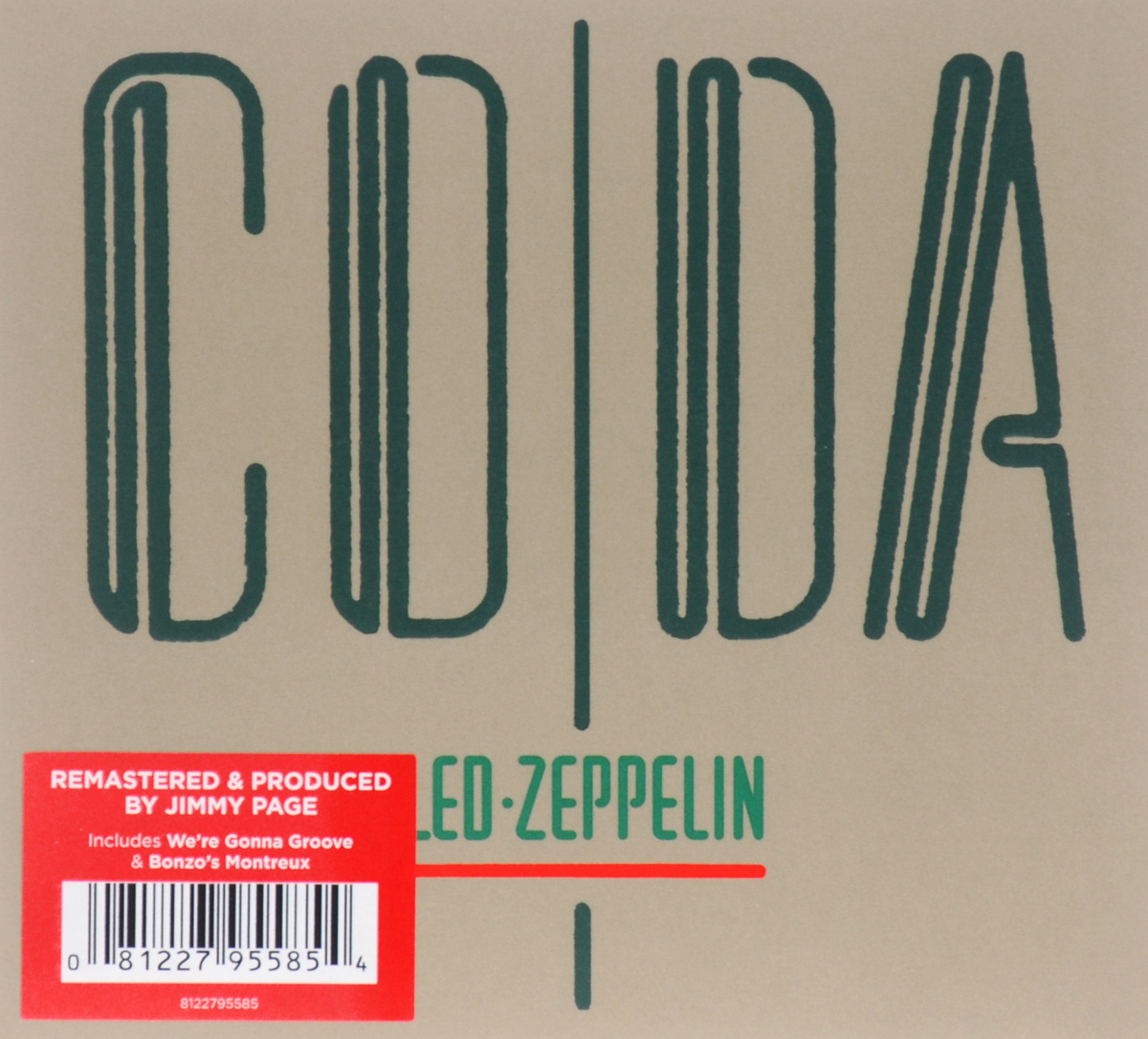 Led Zeppelin Led Zeppelin. Coda цена