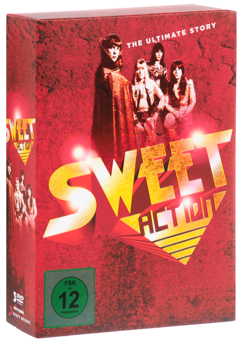 Sweet: Action The Ultimate Story (3 DVD) sweet sweet action the ultimate story 2 cd