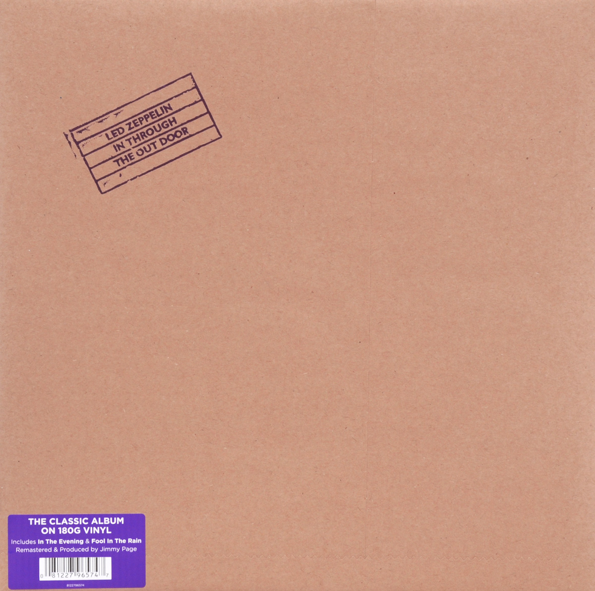 Led Zeppelin Led Zeppelin. In Through The Out Door (LP) in through the out door super deluxe edition box lp cd