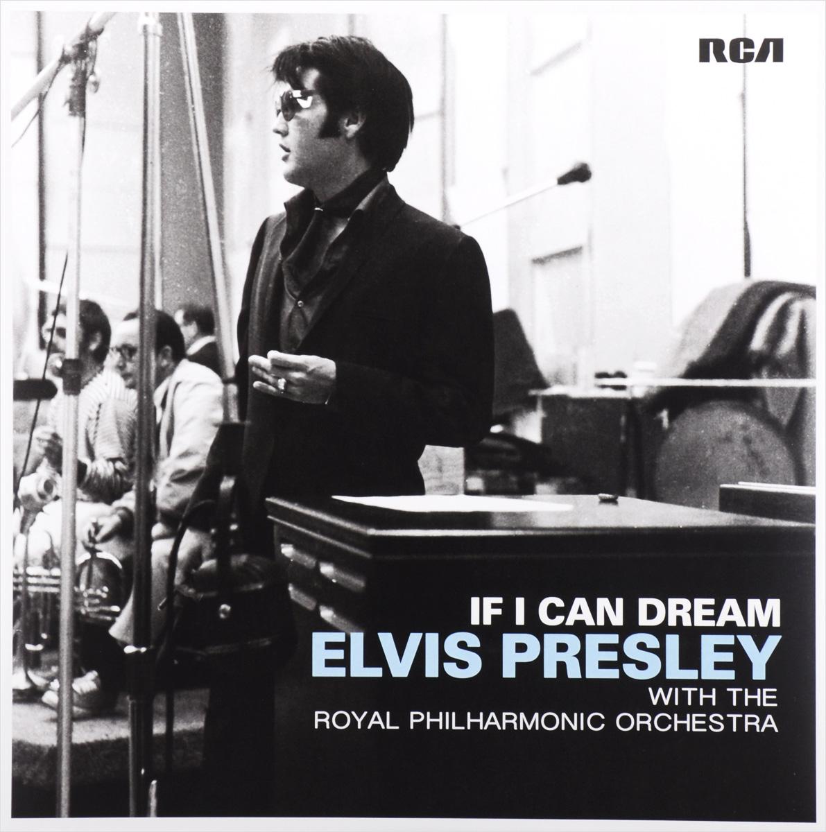 лучшая цена Элвис Пресли,The Royal Philharmonic Orchestra Elvis Presley With The Royal Philharmonic Orchestra. If I Can Dream (2 LP)