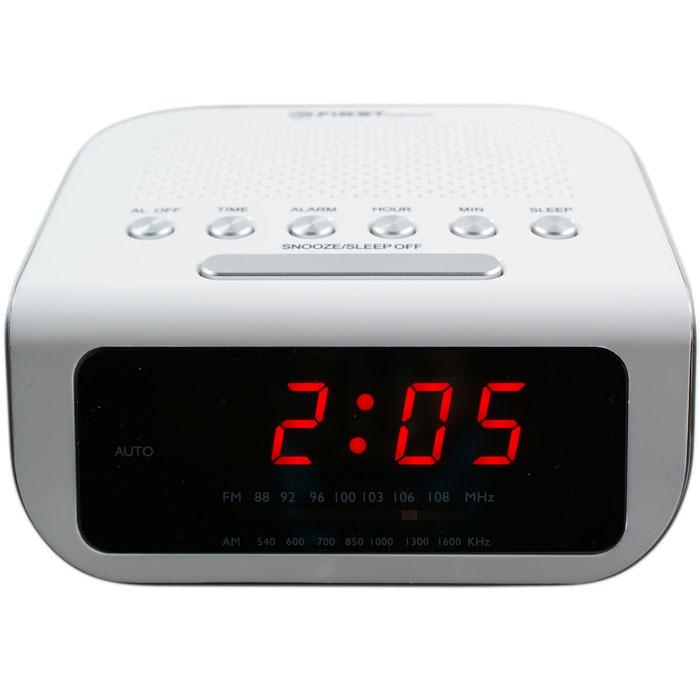 Радио-будильник First FA-2406-1-WI