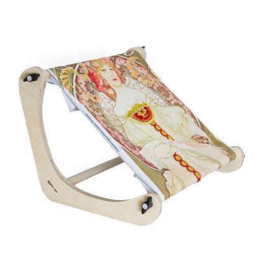 Настольный коленный станок для вышивки Nurge Hobby, высота 30 см шарнирный коленный ортез genu neurexa разъемный