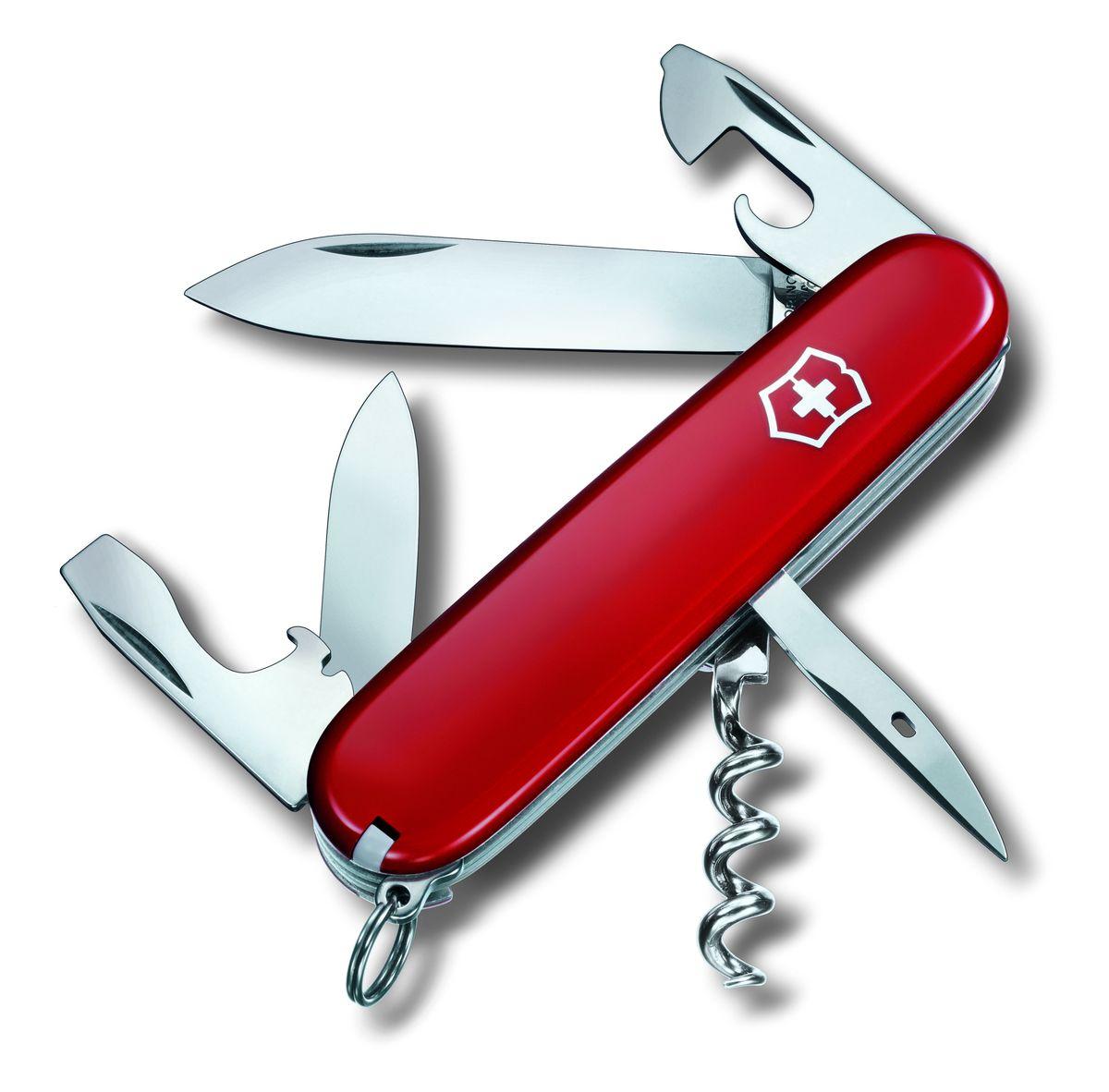 """Нож перочинный Victorinox """"Spartan"""", цвет: красный, 12 функции, 9,1 см"""