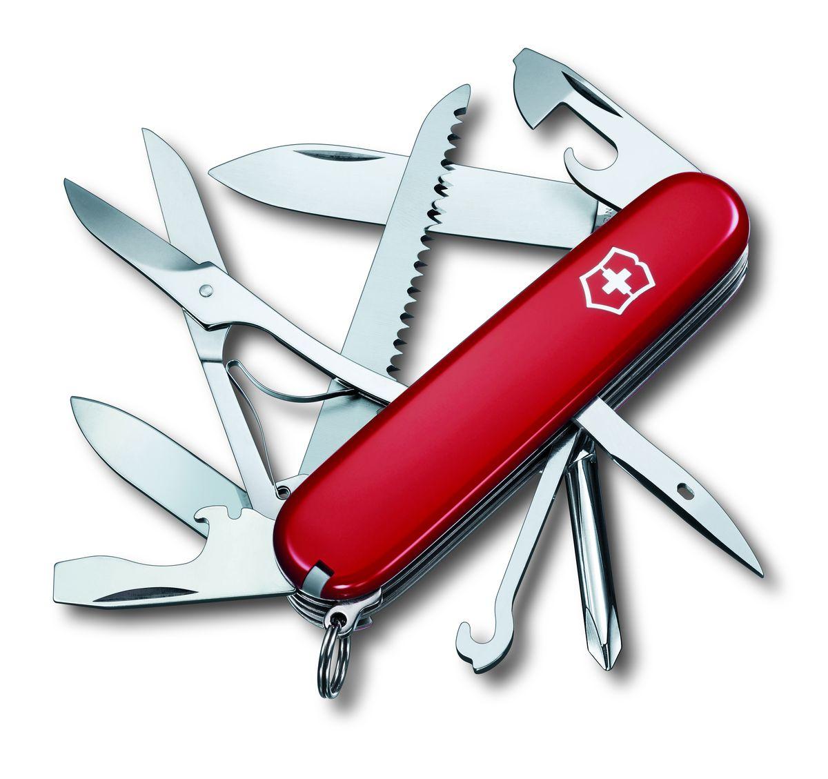 """Нож перочинный Victorinox """"Fieldmaster"""", цвет: красный, длина 9,1 см"""