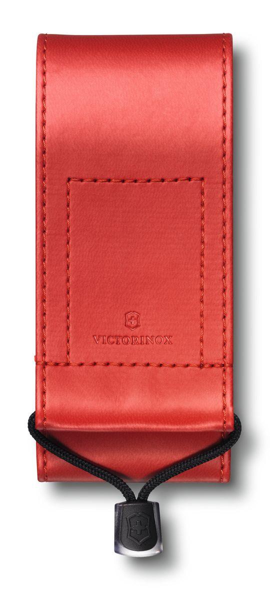 Чехол для ножей Victorinox, на ремень, цвет: красный, 11,5 см х 5 см