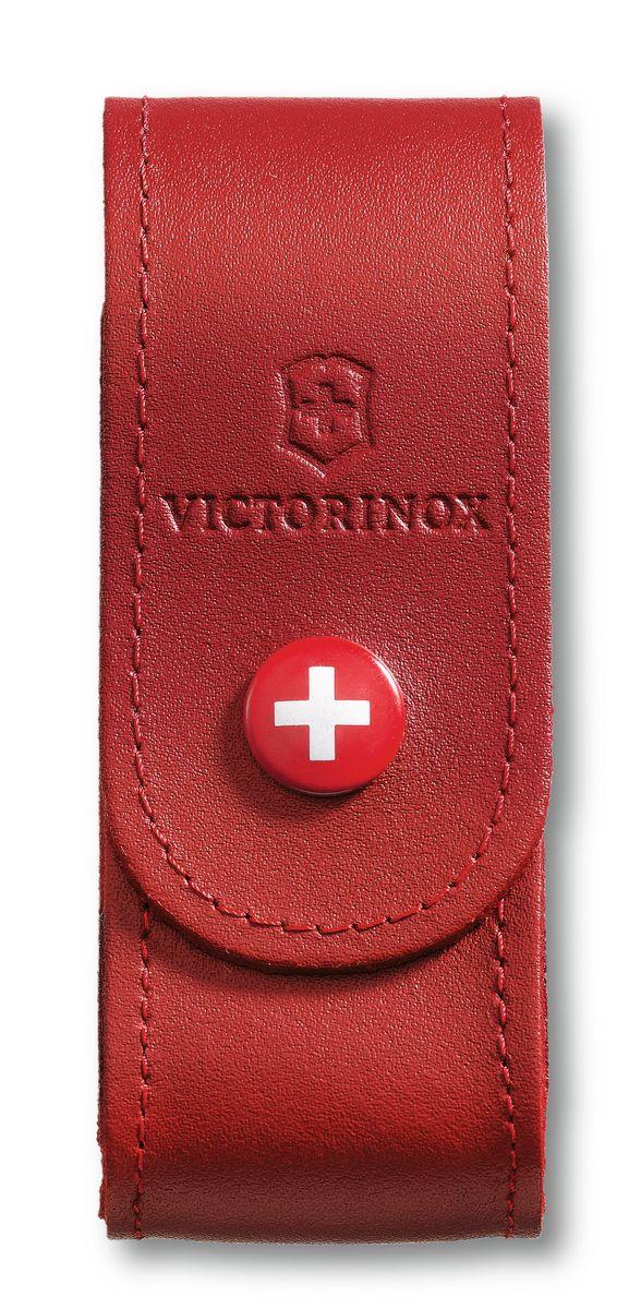 Чехол для ножей Victorinox, цвет: красный, 10 см х 3,7 см