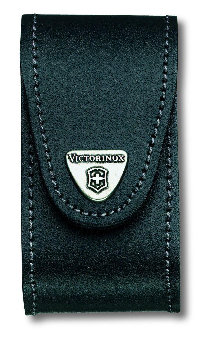 Чехол для ножей Victorinox, на ремень, цвет: черный, 10 см х 5 см