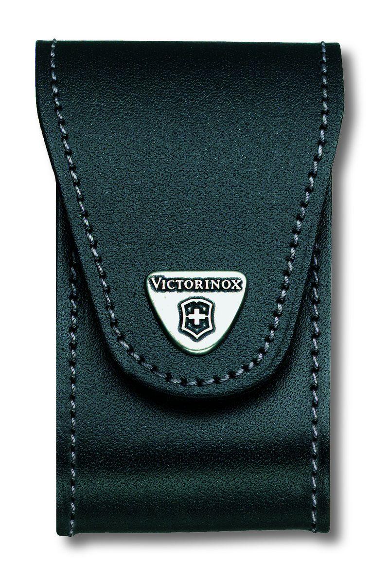 """Чехол для ножей """"Victorinox"""", на ремень, цвет: черный, 10,5 см х 6 см"""