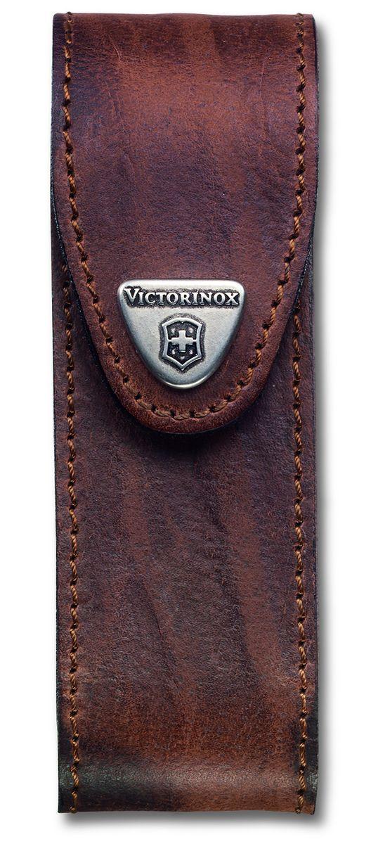 Чехол для ножей Victorinox, цвет: коричневый, 13 см х 4 см