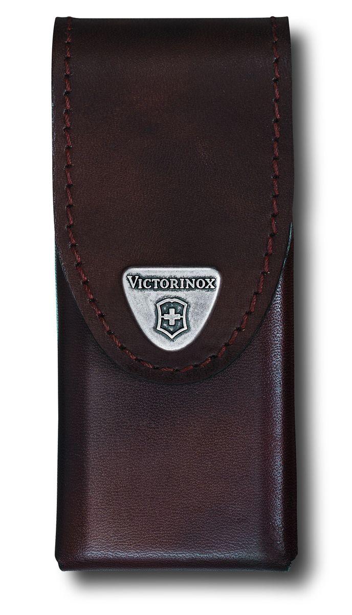 Чехол для ножей Victorinox, на ремень, цвет: коричневый, 11 см х 5,5 см